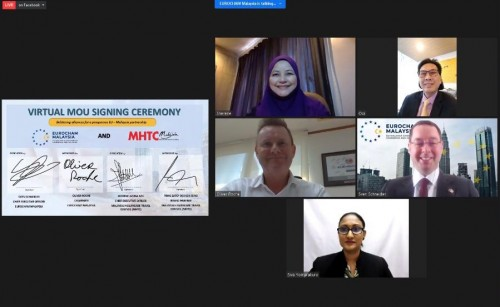 Virtual MOU Signing between EUROCHAM Malaysia and MHTC